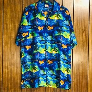Rima St. Maarten Large Tropical Resort Shirt